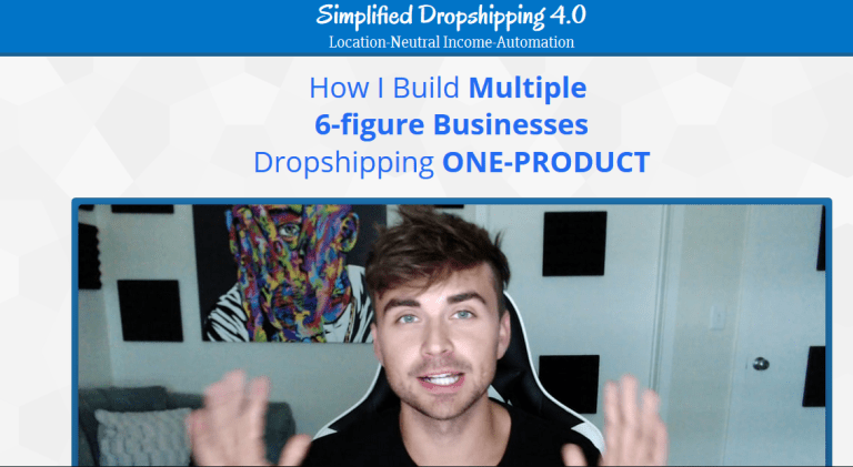 Scott Hilse – Simplified Dropshipping 4.0 – WSO Downloads